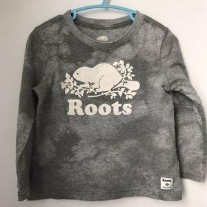 Roots 3T cloud nice Tee and sweat shirt set